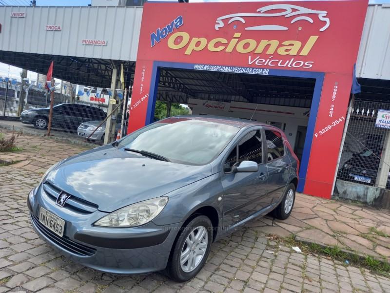 307 1.6 presence 16v gasolina 4p manual 2005 caxias do sul