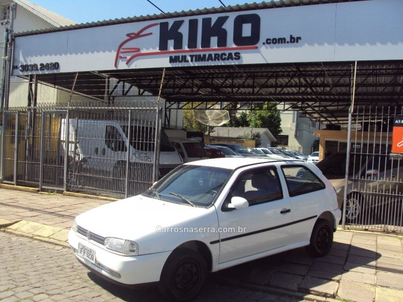 gol 1.0 i 8v gasolina 2p manual 1997 caxias do sul