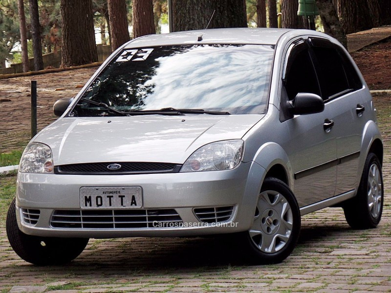 fiesta 1.0 mpi personnalite 8v gasolina 4p manual 2003 caxias do sul
