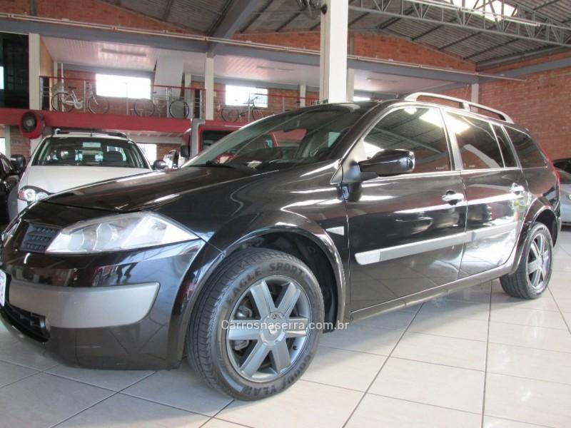 megane 2.0 dynamique grand tour 16v gasolina 4p automatico 2007 farroupilha
