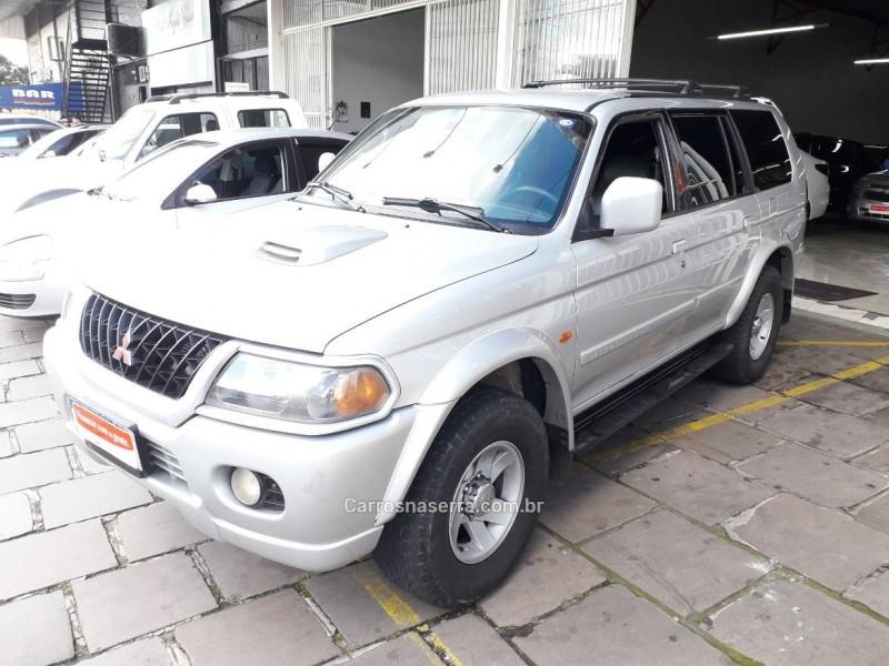 pajero sport 2.8 se 4x4 8v turbo intercooler diesel 4p automatico 2002 bento goncalves