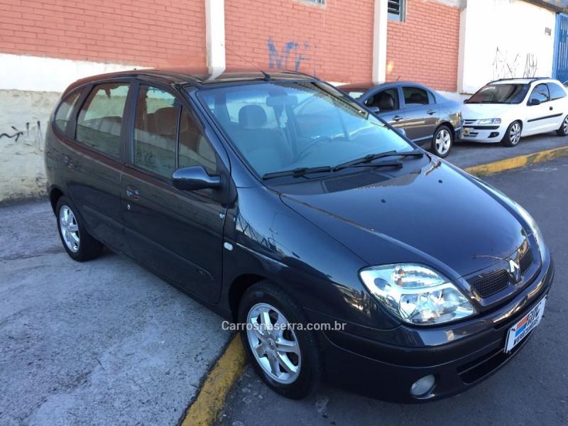 scenic 1.6 privilege 16v gasolina 4p manual 2005 caxias do sul