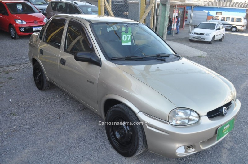 corsa 1.0 mpfi classic sedan life 8v flex 4p manual 2007 caxias do sul
