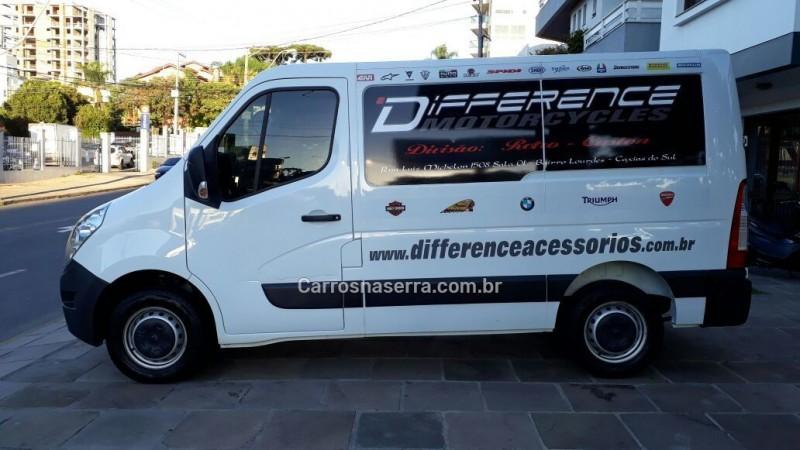 master 2.3 furgao l1h1 16v turbo intercooler diesel 4p manual 2014 caxias do sul