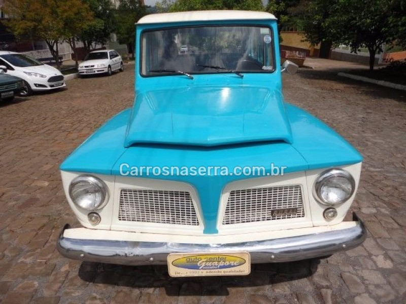 RURAL 2.6 4X2 6 CILINDROS 12V GASOLINA 2P MANUAL - 1974 - GUAPORé
