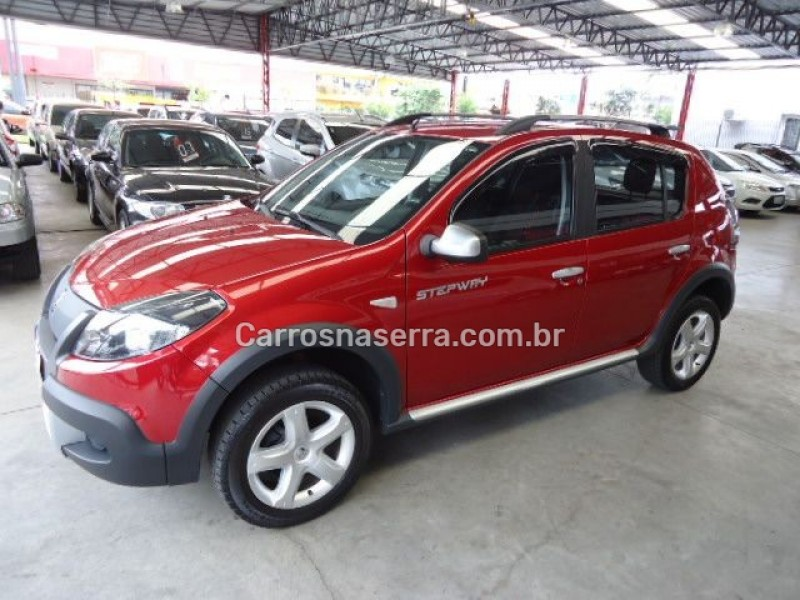 sandero 1.6 stepway 16v flex 4p manual 2012 caxias do sul