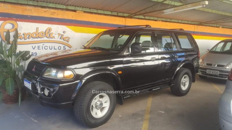 pajero sport 3.0 gls 4x4 v6 24v gasolina 4p automatico 2002 bento goncalves