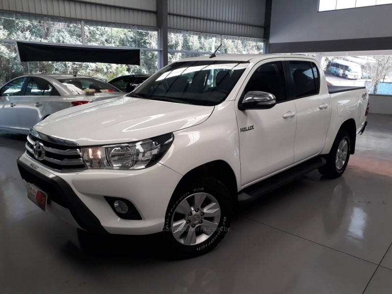 hilux 3.0 srv top 4x4 cd 16v turbo intercooler diesel 4p automatico 2017 nova prata