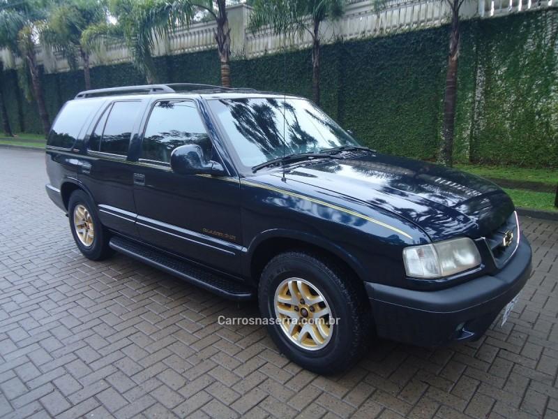 blazer 4.3 sfi dlx executive 4x2 v6 12v gasolina 4p manual 2000 caxias do sul