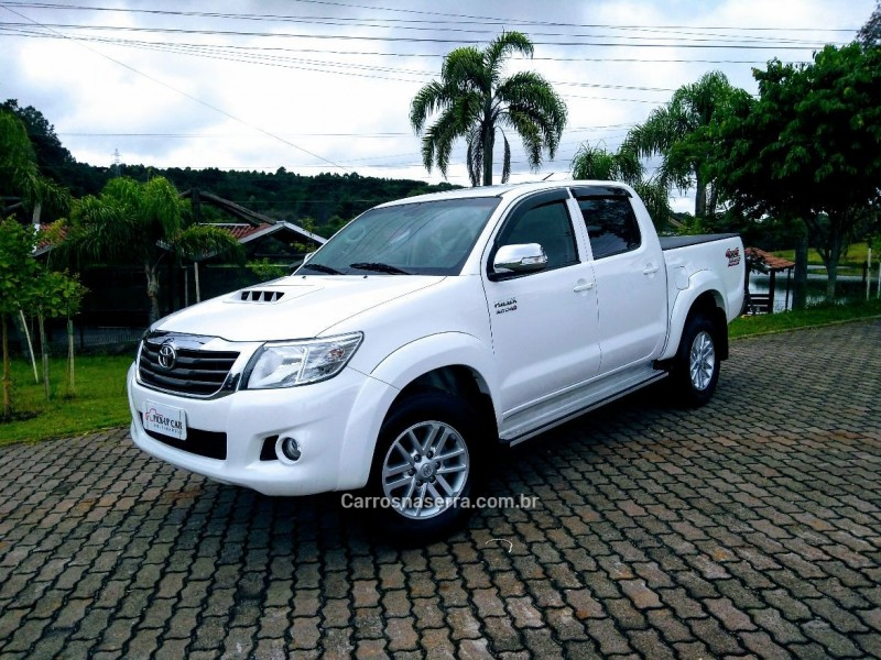 hilux 3.0 srv top 4x4 cd 16v turbo intercooler diesel 4p automatico 2014 caxias do sul