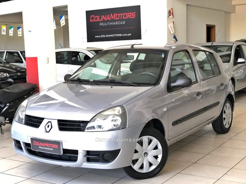 clio 1.0 authentique 16v hi flex 4p manual 2006 caxias do sul