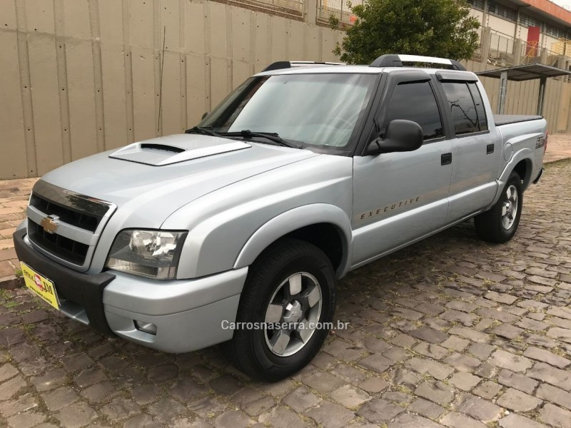 s10 2.8 executive 4x4 cd 12v turbo electronic intercooler diesel 4p manual 2009 caxias do sul