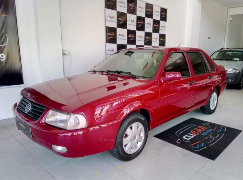 santana 2.0 gl 8v gasolina 4p manual 2001 caxias do sul