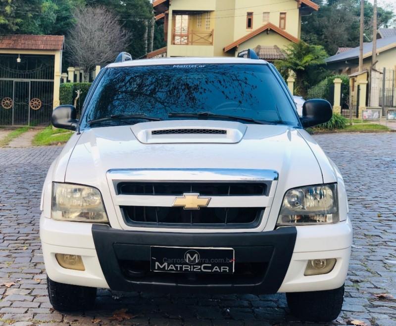 s10 2.8 executive 4x4 cd 12v turbo electronic intercooler diesel 4p manual 2008 canela