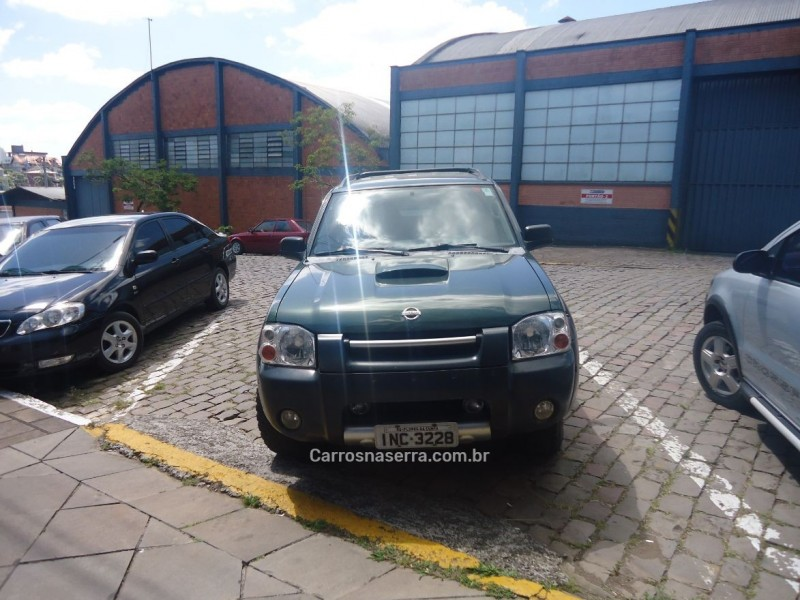 frontier 2.8 xe attack 4x4 cd turbo eletronic diesel 4p manual 2006 flores da cunha