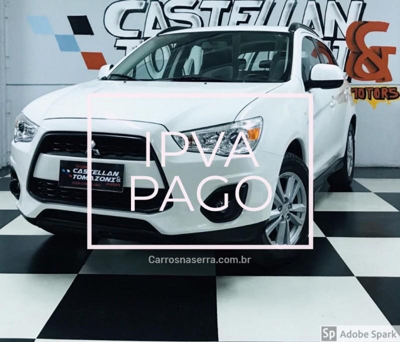 asx 2.0 4x2 16v gasolina 4p automatico 2013 caxias do sul