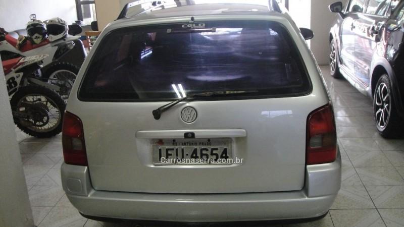 parati 1.6 mi cl 8v gasolina 2p manual 1997 farroupilha