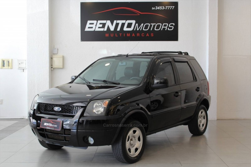 ecosport 1.6 xls 8v gasolina 4p manual 2005 bento goncalves