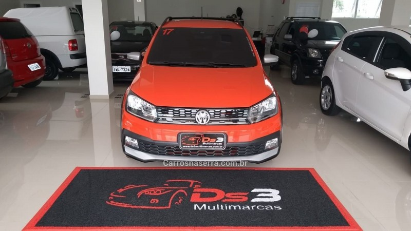saveiro 1.6 cross ce 16v flex 2p manual 2017 flores da cunha