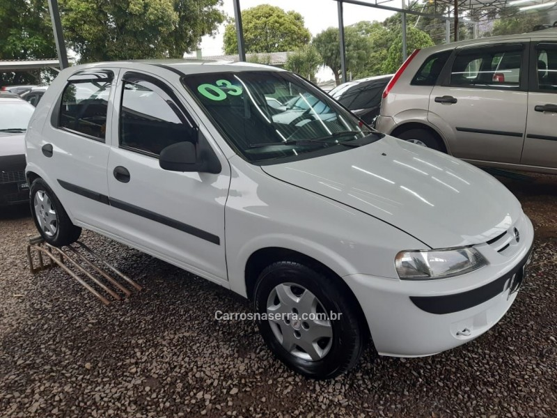 celta 1.0 mpfi vhc super 8v gasolina 4p manual 2003 caxias do sul