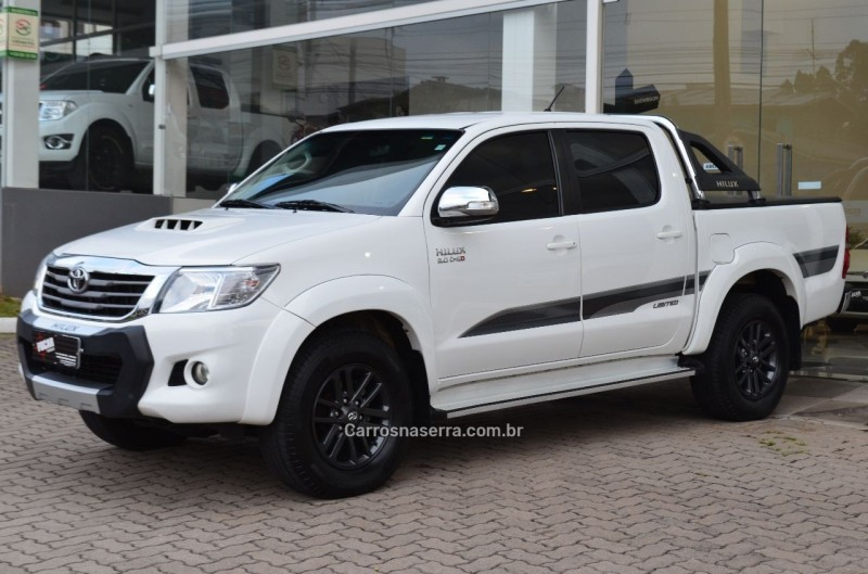 hilux 3.0 srv limited edition 4x4 cd 16v turbo intercooler diesel 4p automatico 2015 caxias do sul