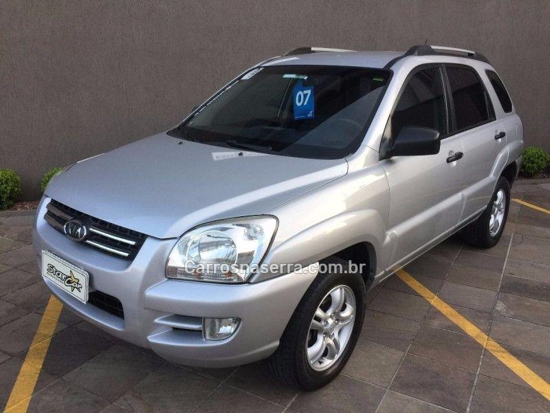 sportage 2.0 lx 4x2 16v gasolina 4p automatico 2007 caxias do sul