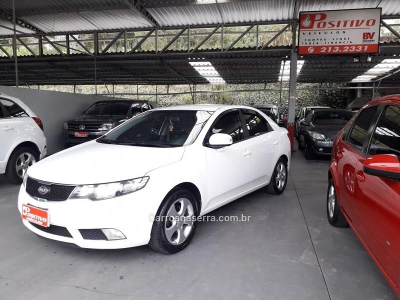 cerato 1.6 ex sedan 16v gasolina 4p automatico 2011 caxias do sul