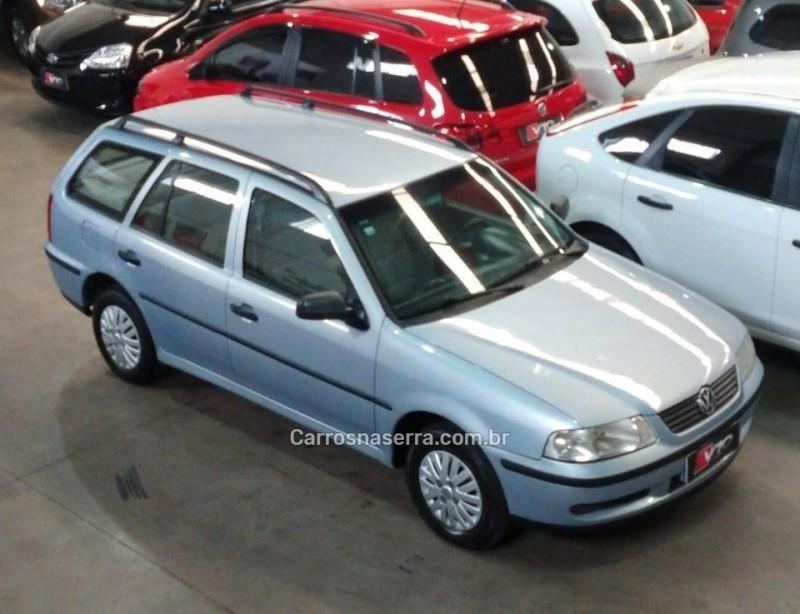 parati 1.8 mi gl 8v gasolina 4p manual 2002 caxias do sul