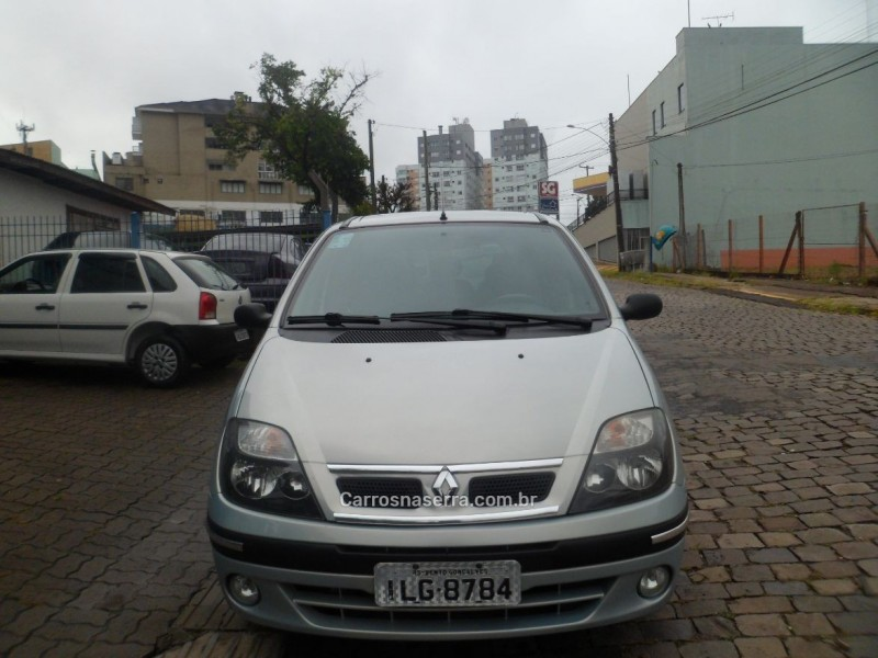 scenic 1.6 rt 16v gasolina 4p manual 2003 bento goncalves