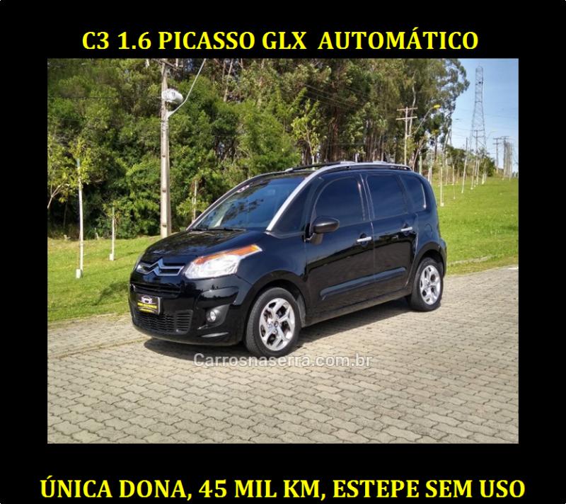 c3 1.6 picasso glx 16v flex 4p automatico 2013 caxias do sul