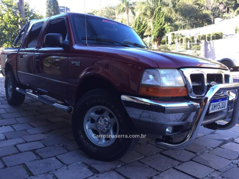 ranger 2.5 xlt 4x4 cd 8v turbo intercooler diesel 4p manual 1999 caxias do sul