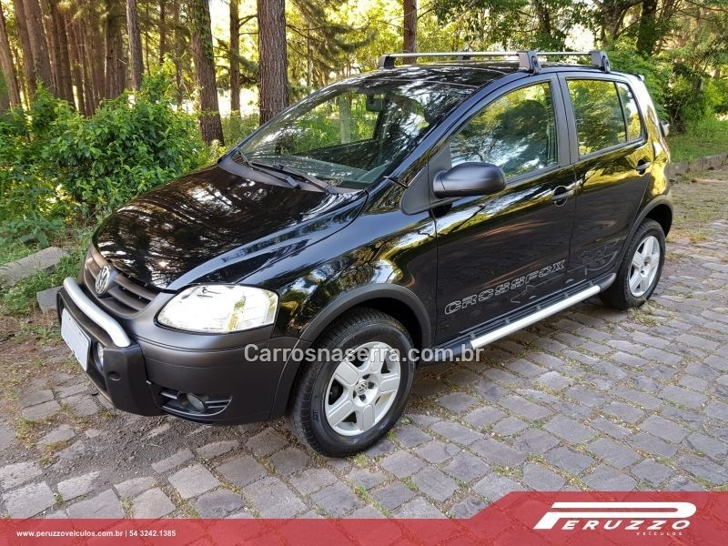 crossfox 1.6 mi flex 8v 4p manual 2006 nova prata