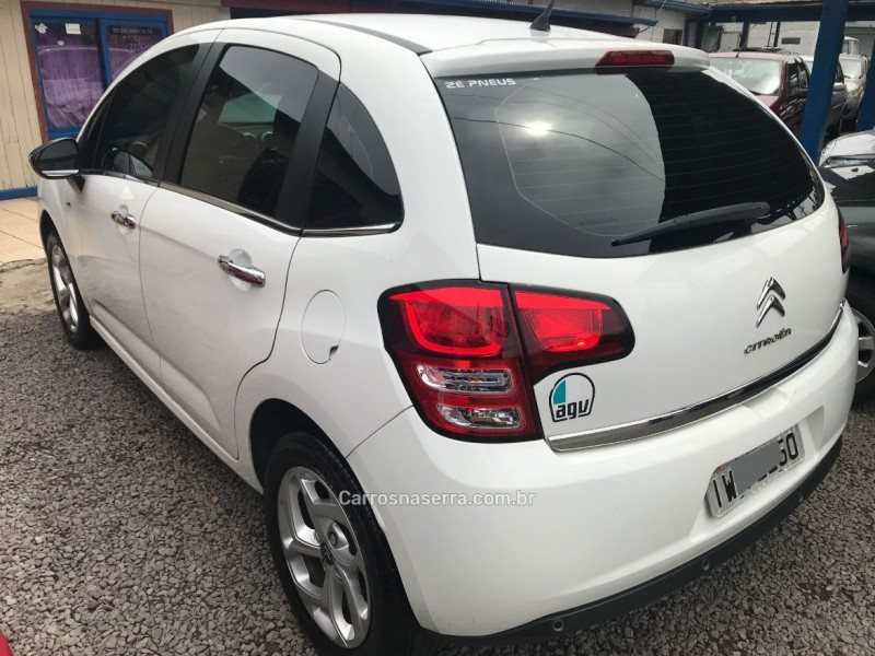 C3 1.5 EXCLUSIVE 8V FLEX 4P MANUAL - 2015 - CAXIAS DO SUL