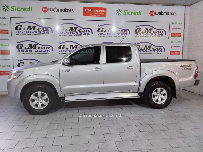 hilux 3.0 srv 4x4 cd 16v turbo intercooler diesel 4p automatico 2013 sao sebastiao do cai