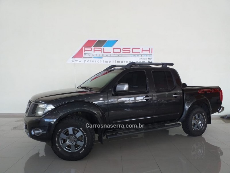 frontier 2.5 sv attack 4x4 cd turbo eletronic diesel 4p manual 2014 vacaria