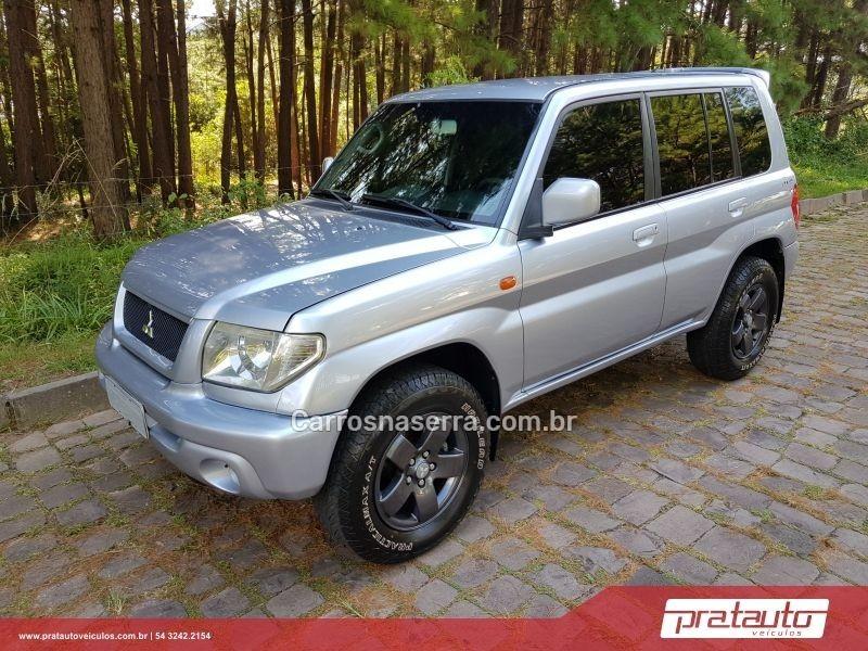 pajero tr4 2.0 4x4 16v 131cv gasolina 4p automatico 2006 nova prata