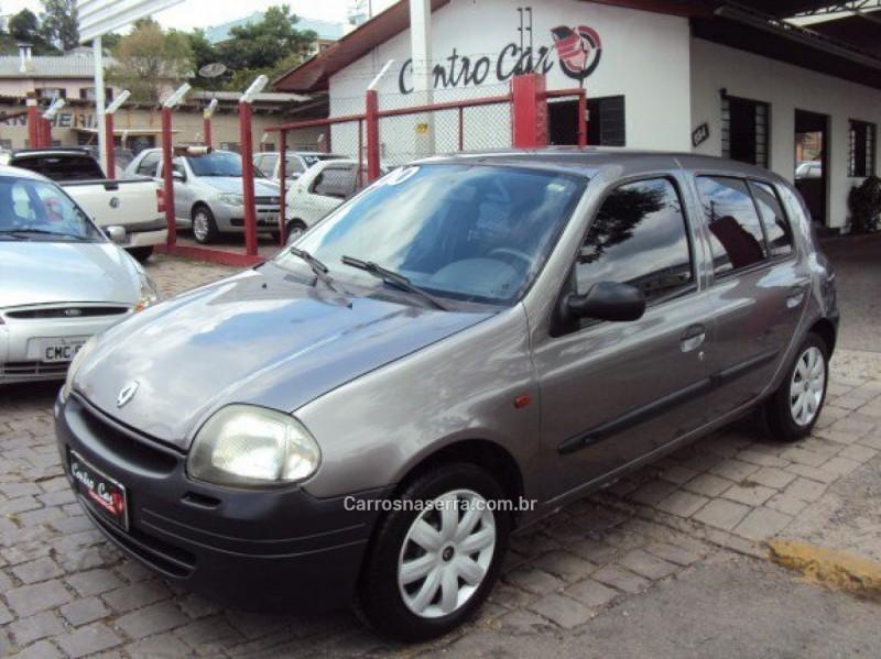 clio 1.0 rn 8v gasolina 4p manual 2000 caxias do sul