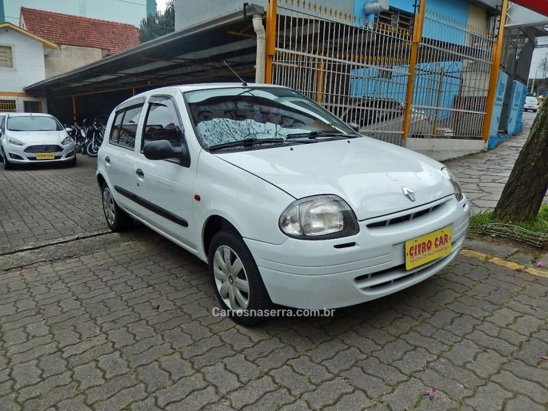 clio 1.6 rn 16v gasolina 4p manual 2001 caxias do sul