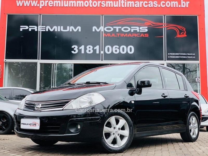 tiida 1.8 sl 16v gasolina 4p automatico 2011 estancia velha