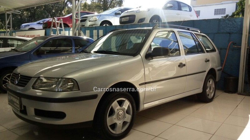 parati 1.0 mi 16v gasolina 4p manual g.iii 2000 caxias do sul