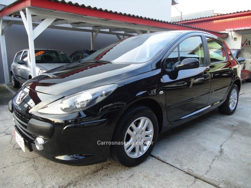 307 2.0 feline 16v gasolina 4p automatico 2008 caxias do sul