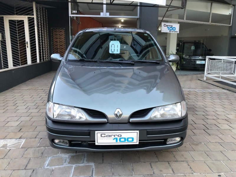 scenic 2.0 rxe 8v gasolina 4p manual 2001 caxias do sul