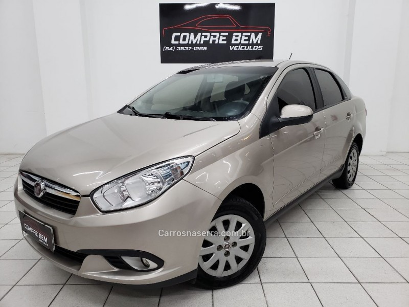 siena 1.4 mpi attractive 8v flex 4p manual 2013 caxias do sul