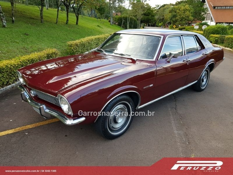 MAVERICK SUPER LUXO SEDAN V8 16V GASOLINA 4P MANUAL - 1974 - NOVA PRATA