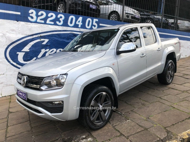 amarok 2.0 trendline 4x4 cd 16v turbo intercooler diesel 4p automatico 2017 caxias do sul