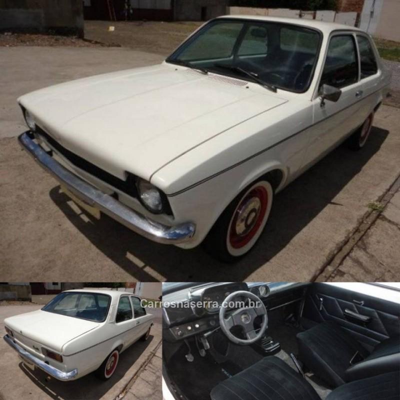 chevette 1.4 gp 8v gasolina 2p manual 1974 guapore