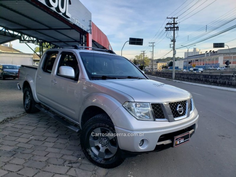 frontier 2.5 xe 4x2 cd turbo eletronic diesel 4p manual 2010 caxias do sul