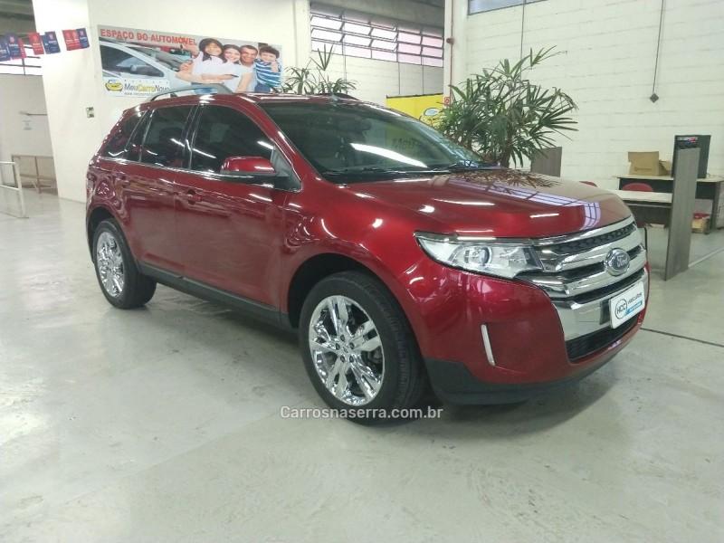 edge 3.5 limited awd v6 24v gasolina 4p automatico 2014 caxias do sul