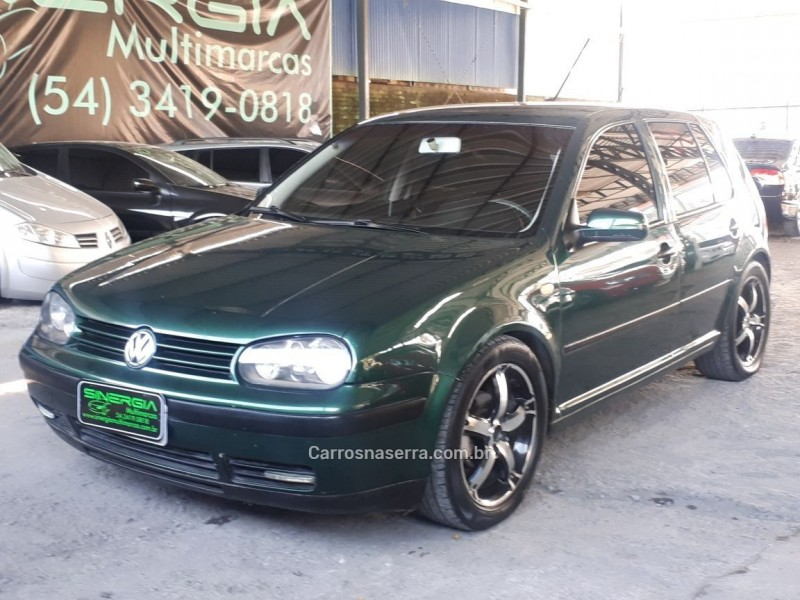 golf 1.6 mi 8v gasolina 4p manual 2000 caxias do sul