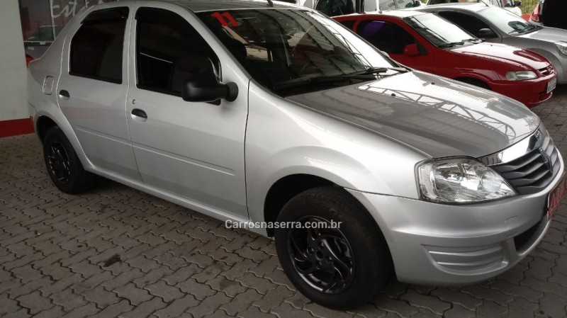logan 1.0 authentique 16v flex 4p manual 2011 caxias do sul